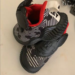 Adidas Mickey Mouse edition size 6k shoes